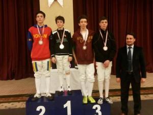 Alexandru Pirva (locul 1) si Silviu Rosu (locul 2)