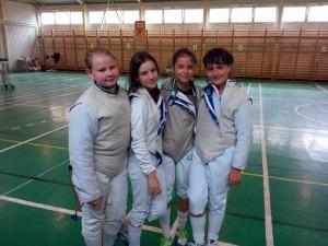 Diana Suta, Cristina Anderco, Melissa Korossy si Teodora Sofran