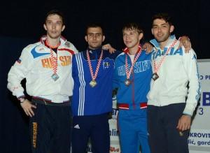 dolniceanu campion european la Zagreb 2013
