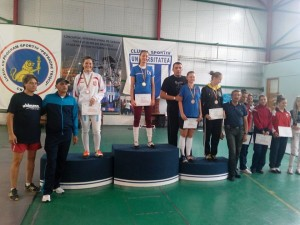 podium spada junioare 2014