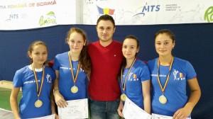 CSM Iasi cu Catrinel Tipisca, Andreea Lupu, Ana Ciobanu, Aleessia Cida