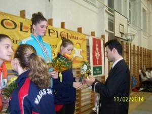 Talida Enache - locul 3 pana in 15 ani
