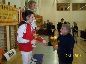 Zsofia Kato 2 - locul 2 la 12-13 ani