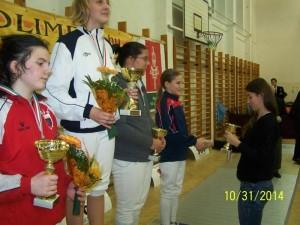 Zsofia Kato 3 - locul 2 la 12-13 ani