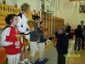 Zsofia Kato 4 - locul 2 la 12-13 ani