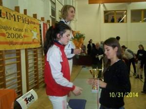 Zsofia Kato - locul 2 la 12-13 ani