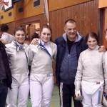 Cerasela Dragan, Andreea Lupu, Ioana Radu si Ana Ciobanu