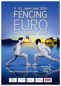 afis Campionatul European Montreux