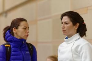 Simona Gherman cu Anca Maroiu