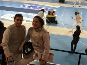 Corina Damaschin si Ana Boldor