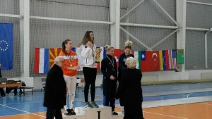 Raluca Sbircia si Diana Donoiu pe podium la Sofia turneu