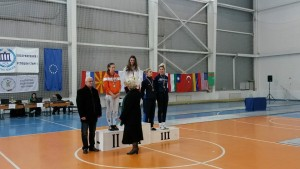 Raluca Sbircia si Diana Donoiu pe podium la Sofia turneu3