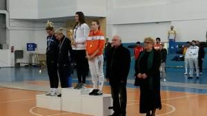 Raluca Sbircia si Diana Donoiu pe podium la Sofia turneu45jpg