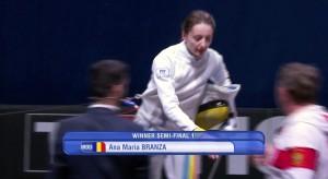 ana invingatoare in semifinala