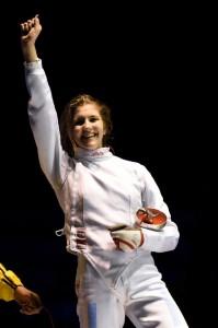 Alexandra fericita dupa victoria cu Nagy Kinga in finala!!!!!!!