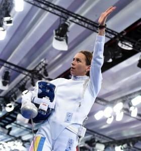 Baku, Azerbaijan 22 giugno 2015 1st European Games.  Fencing Women's Epee  Foto Augusto Bizzi