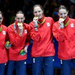 Dinu, Pop, Popescu, Gherman cu medaliile pe podium4